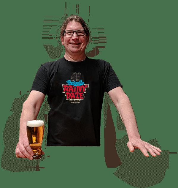 Rainy Daze brewmaster